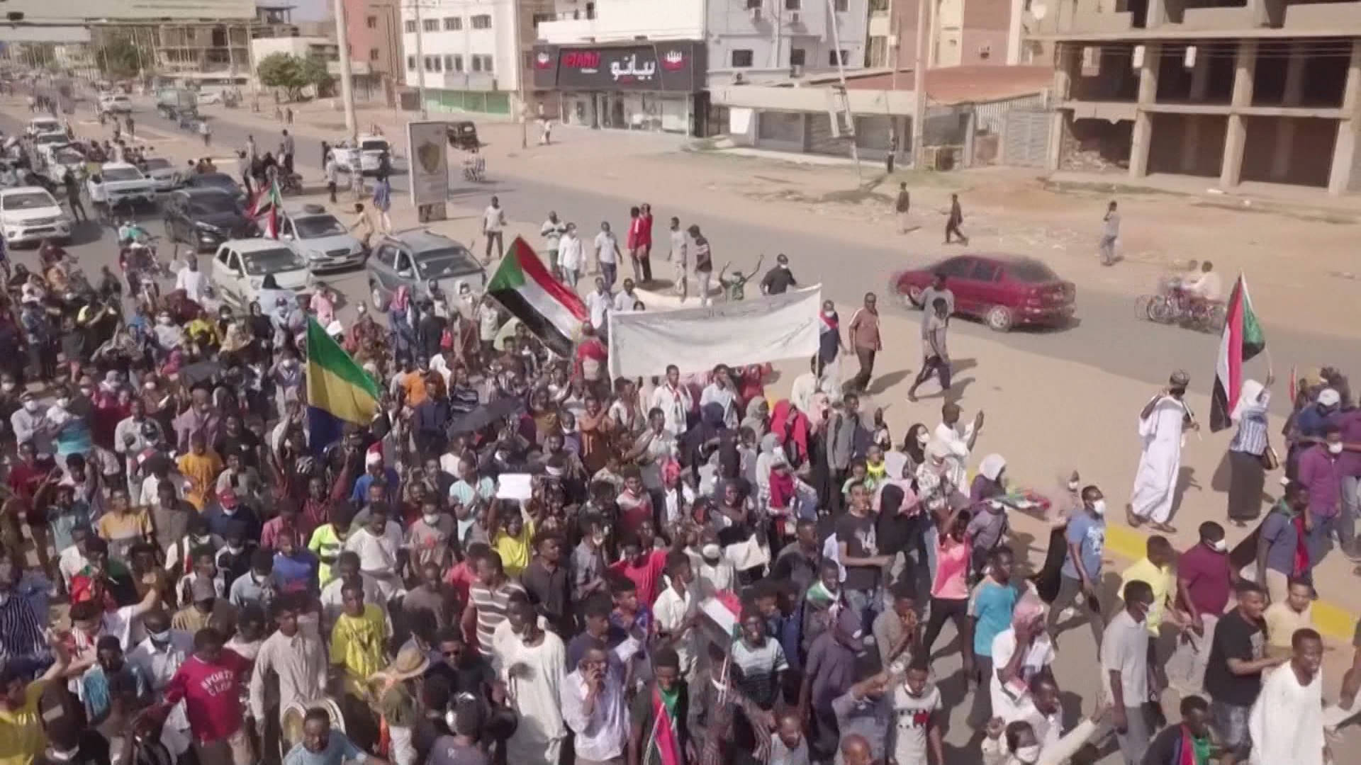 """Read more about the article """"Devastation and Anger"""" in Sudan as Military Coup Halts Country's Democratic Transition"""
