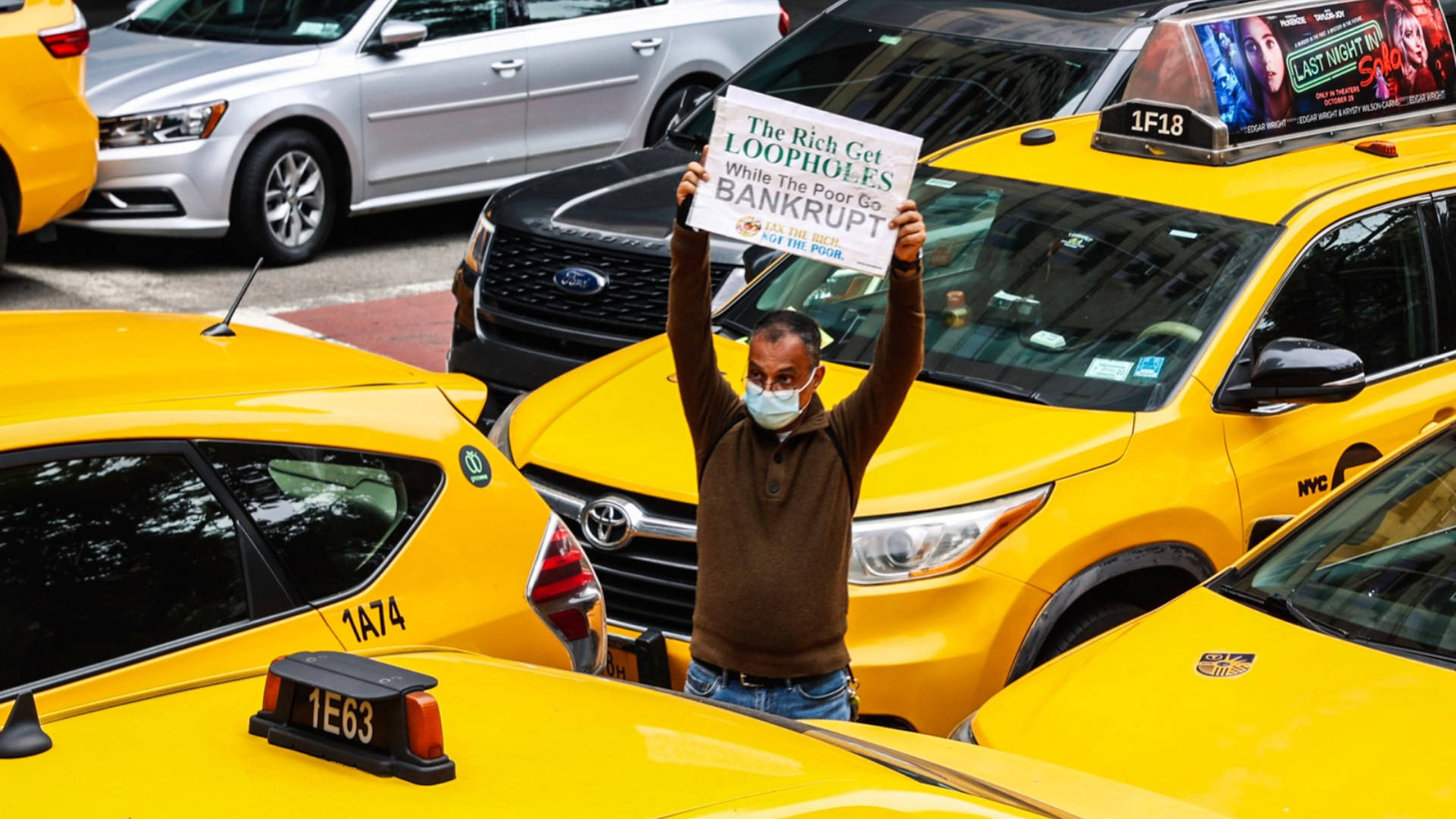 """Read more about the article """"Dire Crisis of Poverty"""": NYC Taxi Drivers Launch Hunger Strike to Demand Relief from Medallion Debt"""